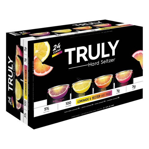 Parkside Liquor Beer & Wine > Coolers > Truly Lemonade Variety Pack 24 Cans